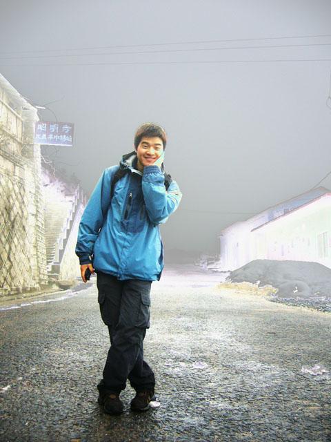 东天目雪景
