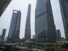 游览上海中心大厦
