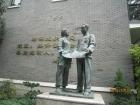 参观都锦生织锦博物馆