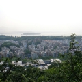 雨天登城隍阁,看烟雨杭州、柔美西湖