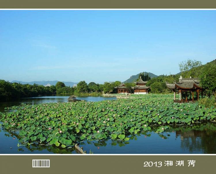 2013 湘 湖 荷